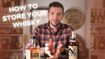 how to store whisky