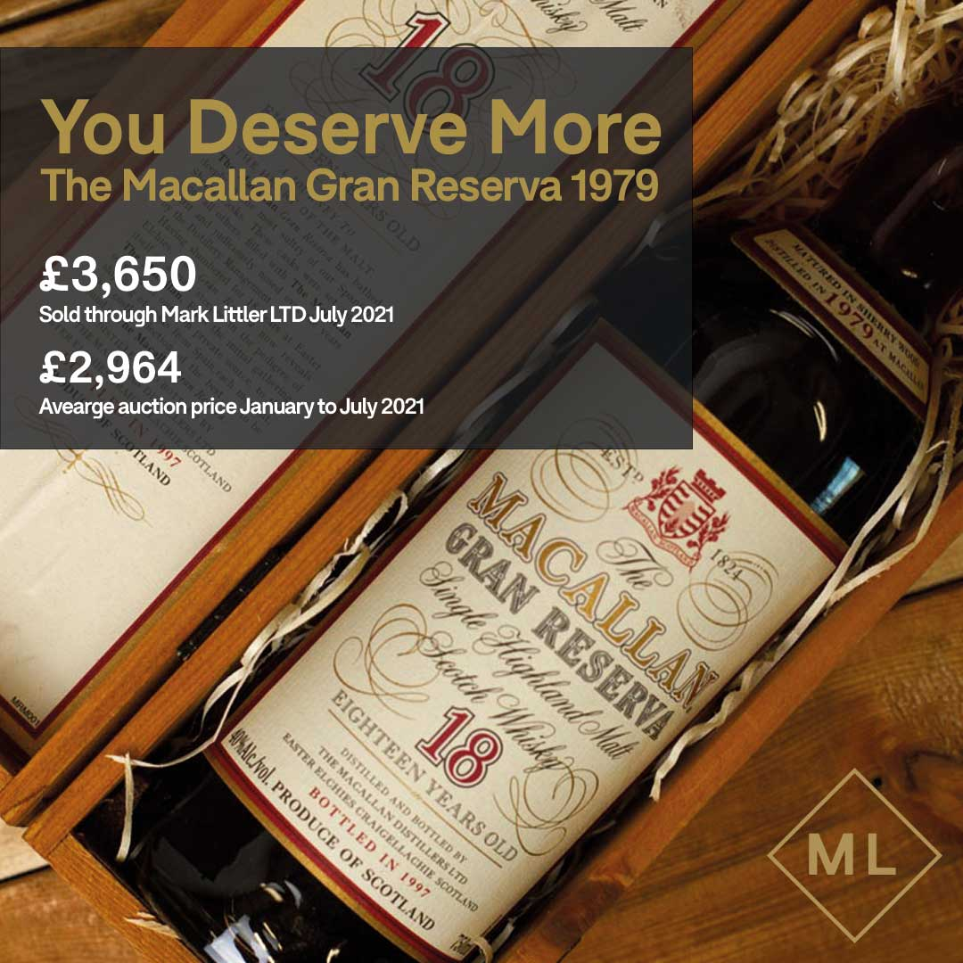 Rather than just accepting the auction price for your bottles, why not sell your bottles on the Mark Littler LTD marketplace and earn yourself more than you ever could at auction. All of which is risk-free, fully insured and with a proven track record.