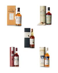 5 Bottle Instant Collection- Balvenie to Talisker